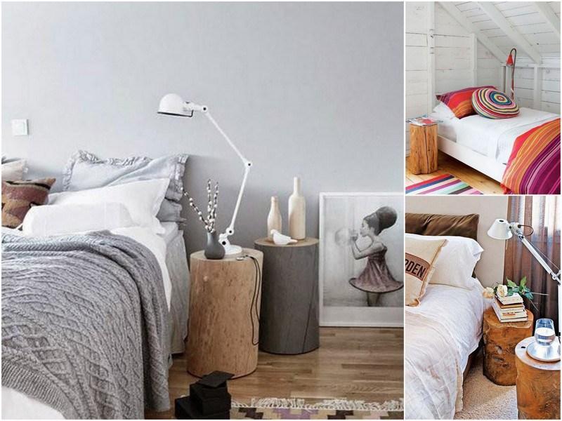 Pon un toque de originalidad en tu dormitorio con estas mesillas de ...