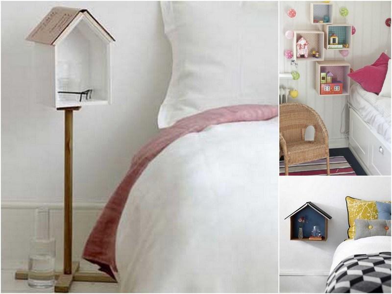 Pon un toque de originalidad en tu dormitorio con estas mesillas de noche nicas casas incre bles - Mesillas originales ...