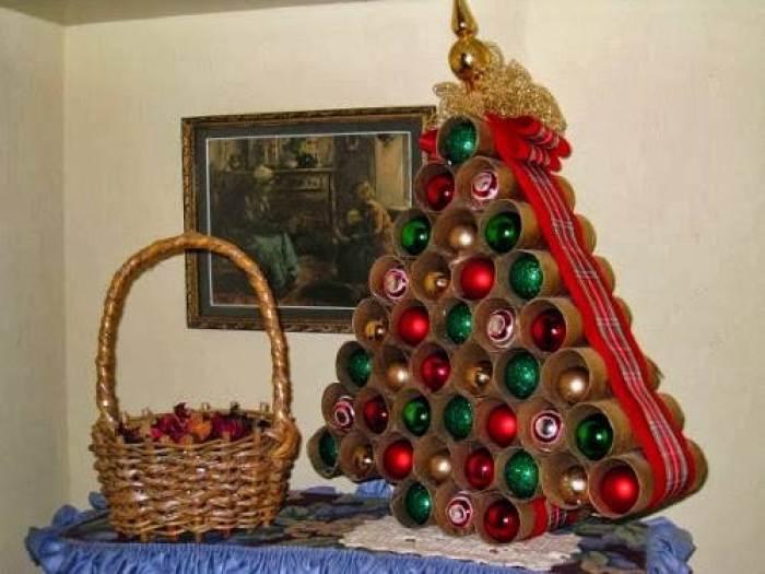20 rboles de Navidad que puedes hacer tu mismo con cosas recicladas