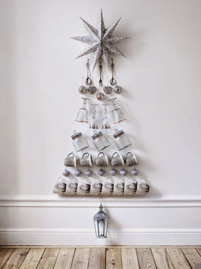 5 rboles de Navidad que puedes hacer sin rbol Casas