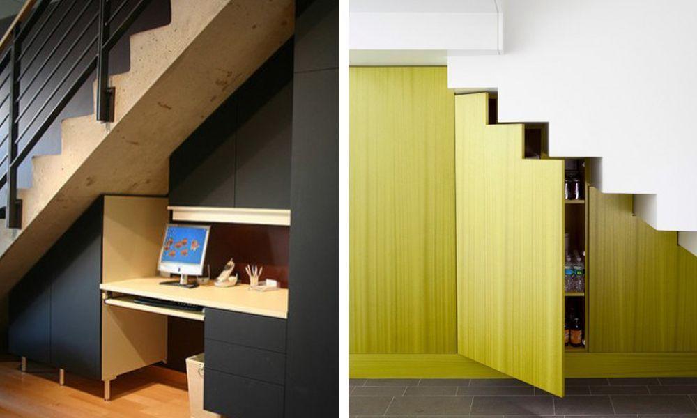 15 Fantásticas Ideas Para Aprovechar Al Máximo El Espacio De Debajo De Las Escaleras Casas Increíbles