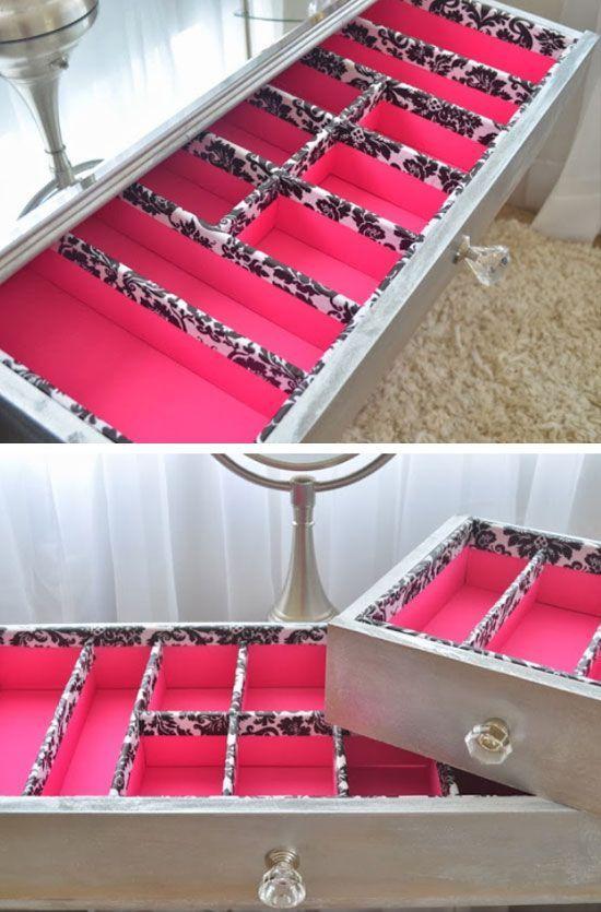 Restaura tus cajones para as poder estrenar mueble - Separadores de cajones ...