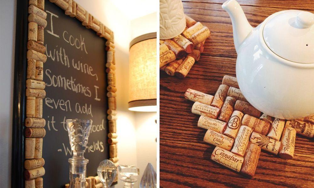 20 fantásticas ideas que te harán reciclar los corchos a partir de ...