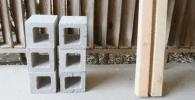 bloques de hormigon destacada