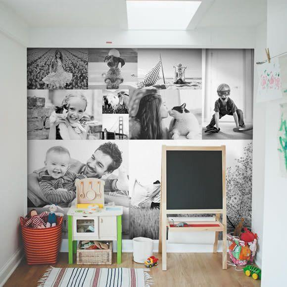 20 ideas originales para decorar tu casa con fotograf as casas incre bles - Ideas para decorar paredes con fotos ...