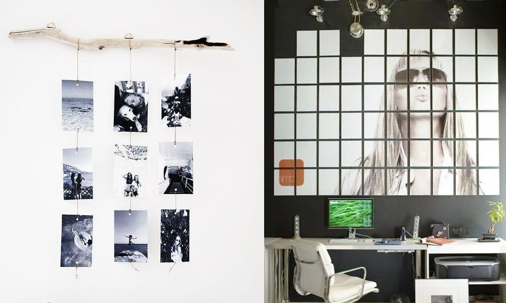 20 ideas originales para decorar tu casa con fotograf as for Ideas originales para casa