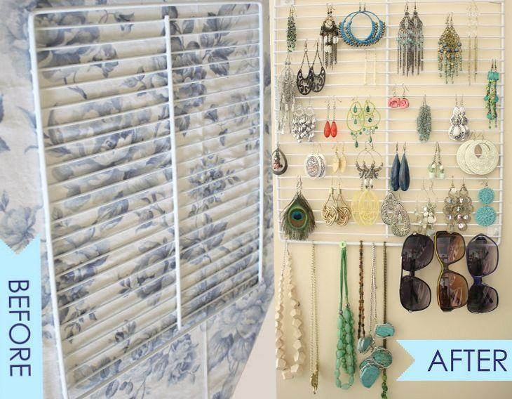17 sencillas ideas para mantener organizadas tus joyas y ...