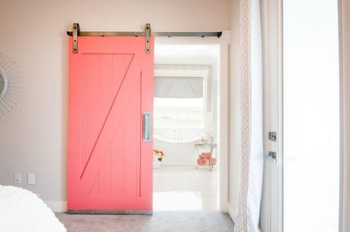 puerta-corredera-madera-rosa-madera-lavabo