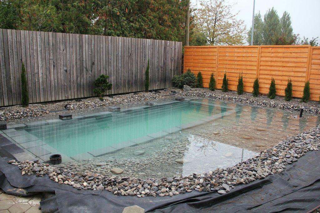 Construy en su jard n una piscina como has visto pocas Piscina natural jardin