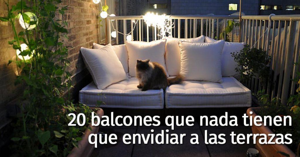 20 ideas para que tu balc n se convierta en tu rinc n for Decoracion de balcones navidenos