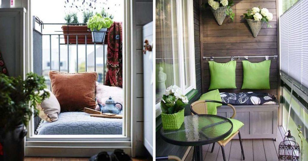14 fant stica ideas para saber aprovechar los balcones - Muebles para balcones pequenos ...