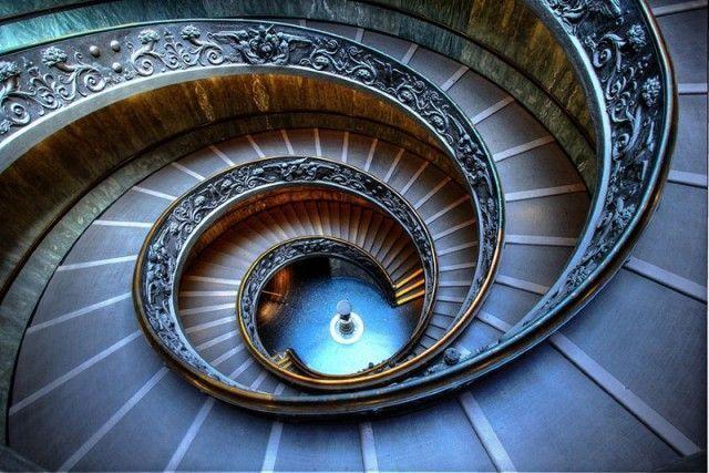 15 escaleras de caracol que te dejan hipnotizado - Casas ...