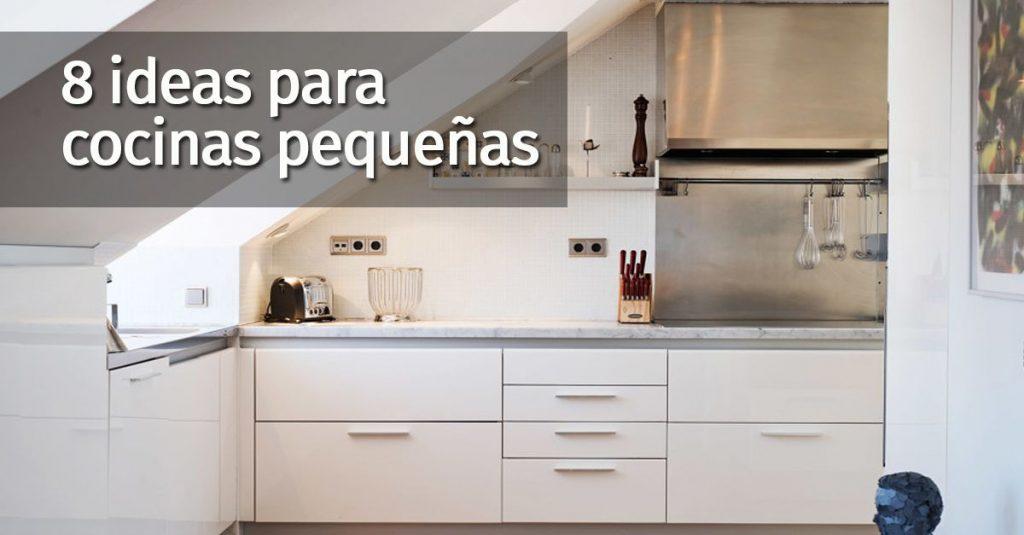 8 cosas a tener en cuenta si tienes una cocina pequeña - Casas ...