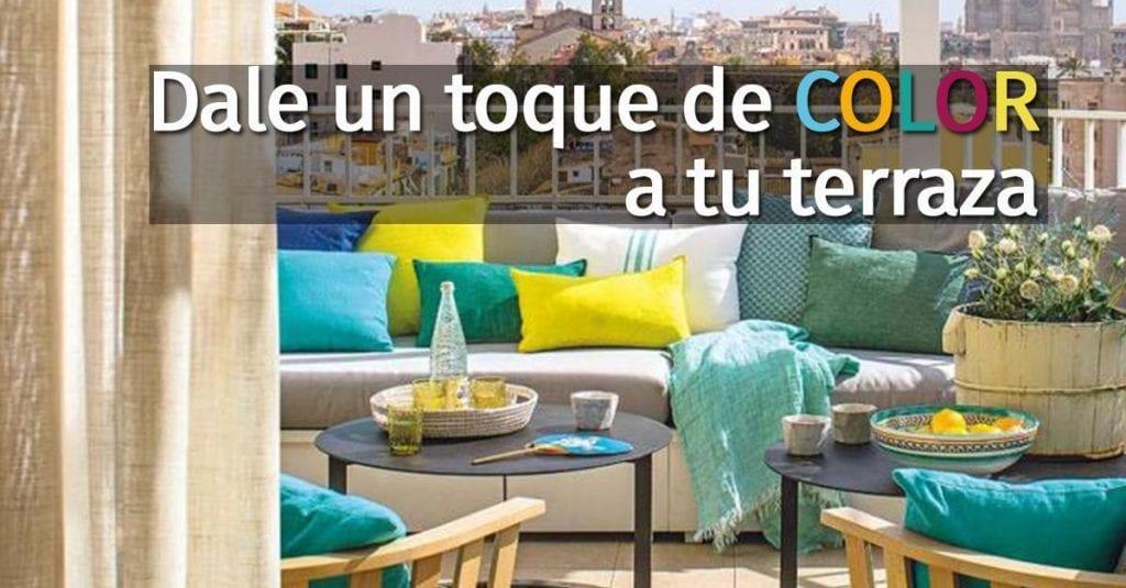 13 Maneras De Darle Un Toque De Color A Tu Terraza Casas