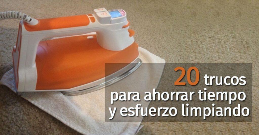Ahorra tiempo y esfuerzo con estos 20 trucos de limpieza - Trucos limpieza casa ...