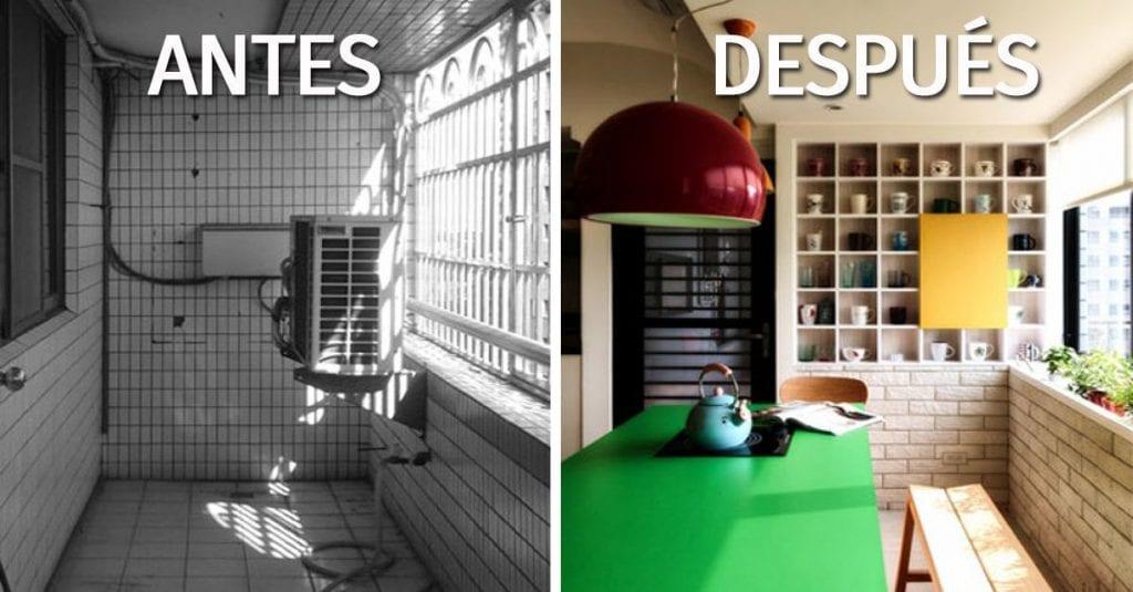 El Antes Y Después De Reformar 7 Terrazas Cubiertas Casas
