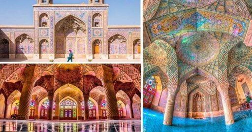Mezquita Nasir al Mulk destacada