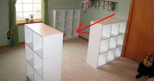 escritorio con estanterias destacada