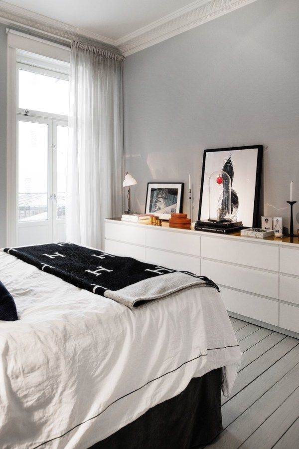 Mueble Malm Ikea. Elegant Cmoda Malm Cajones Con Espejo With Mueble ...