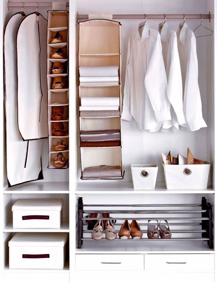Te falta espacio en tu armario te damos 8 soluciones muy sencillas casas increiblescasas - Armarios para espacios pequenos ...