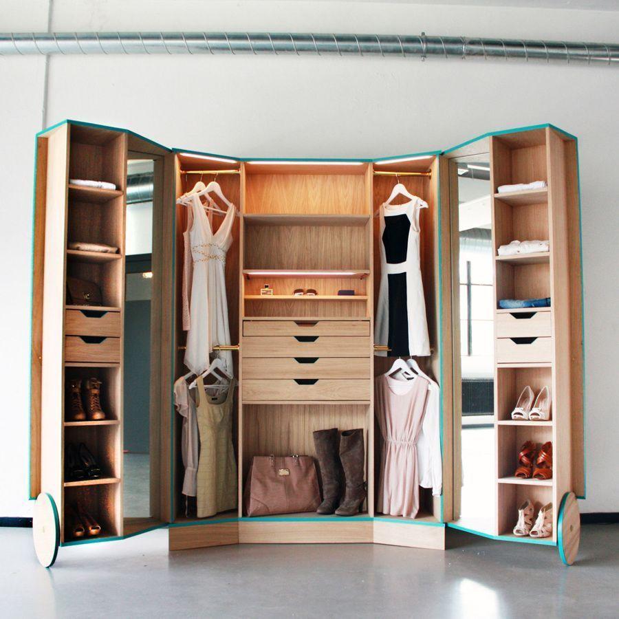 Te falta espacio en tu armario? Te damos 8 soluciones muy sencillas ...