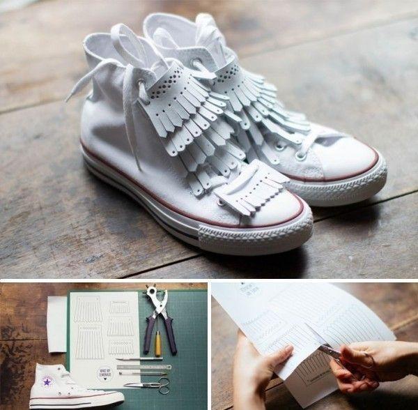 customizar zapatillas viejas
