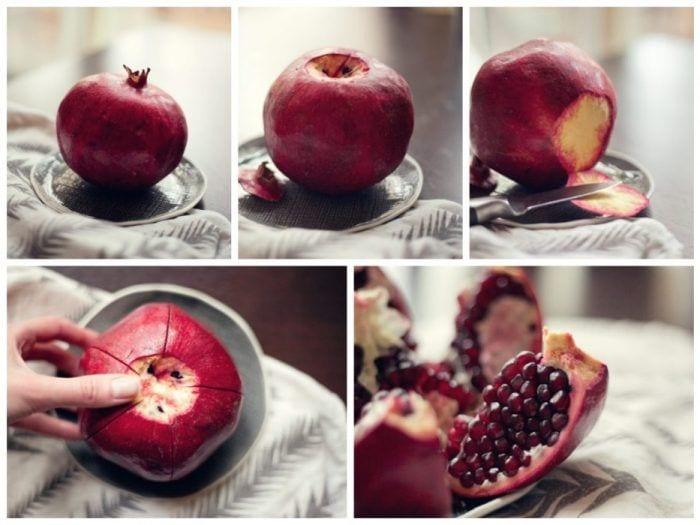 pelar y cortar frutas y verduras