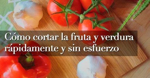 pelar fruta y verdura destacada