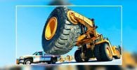 reparar rueda camion