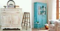 efecto envejecido muebles