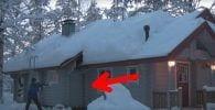 quitar nieve con cuerda
