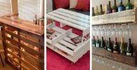 muebles hechos con pales destacada