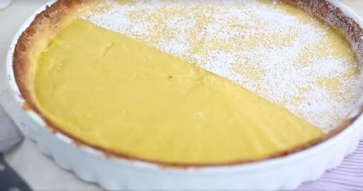 tarta de limon facil