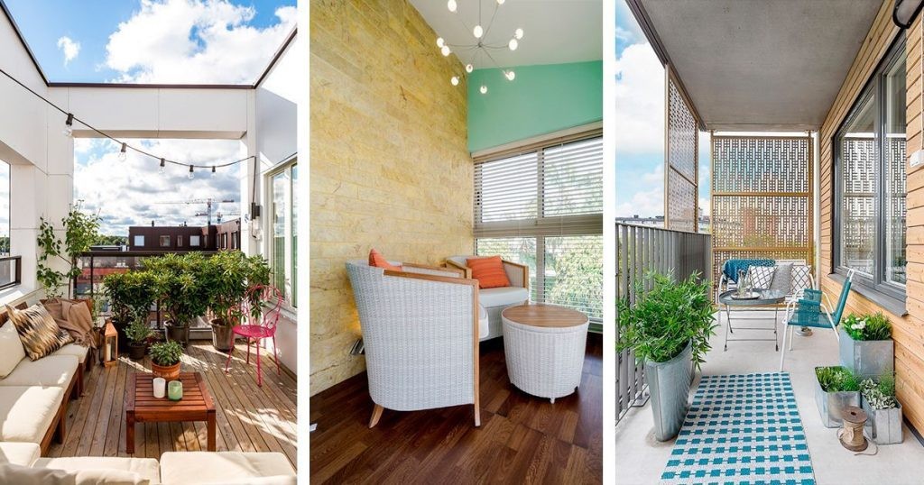12 balcones de ensueño que querrás tener en tu casa