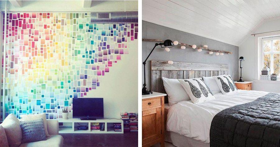 20 ideas para decorar tu casa sin gastarte prácticamente