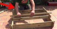 huerto madera