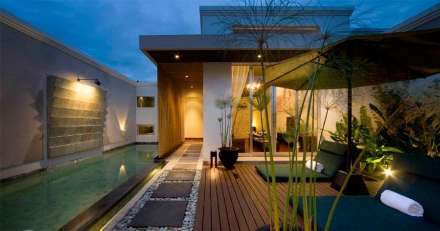 Te ense amos a iluminar tu terraza para conseguir el toque - Iluminacion para patios y jardines ...