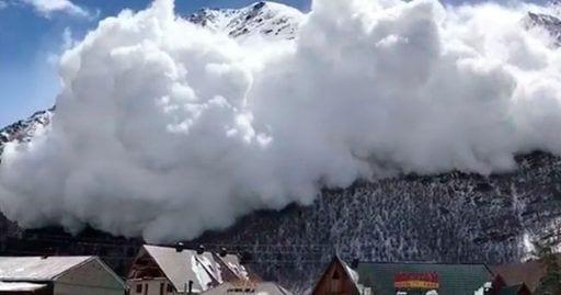 nieve avalancha