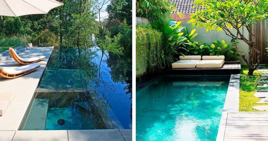 16 piscinas de ensueño para no querer salir de ellas