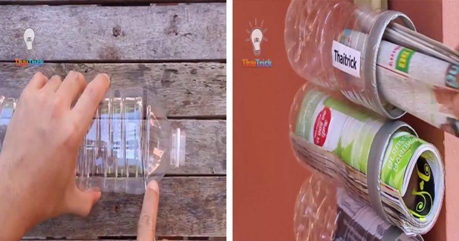 ¿Tiras las botellas de plástico a la basura? ¡Con estos 15 trucos tan útiles podrás reutilizarlas una y otra vez!