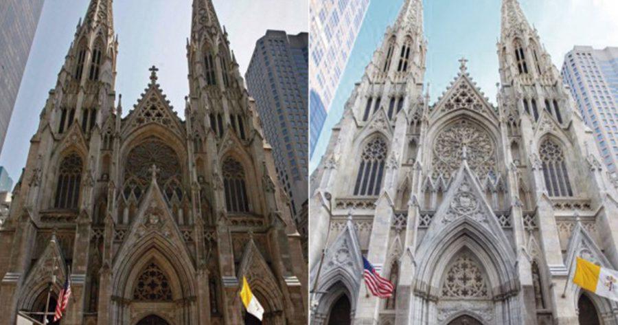 Antes y después de limpiar fachadas históricas