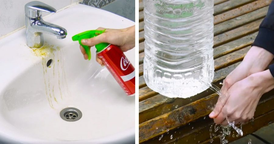 Estos 7 trucos con botellas de plástico te sacarán de más de un apuro