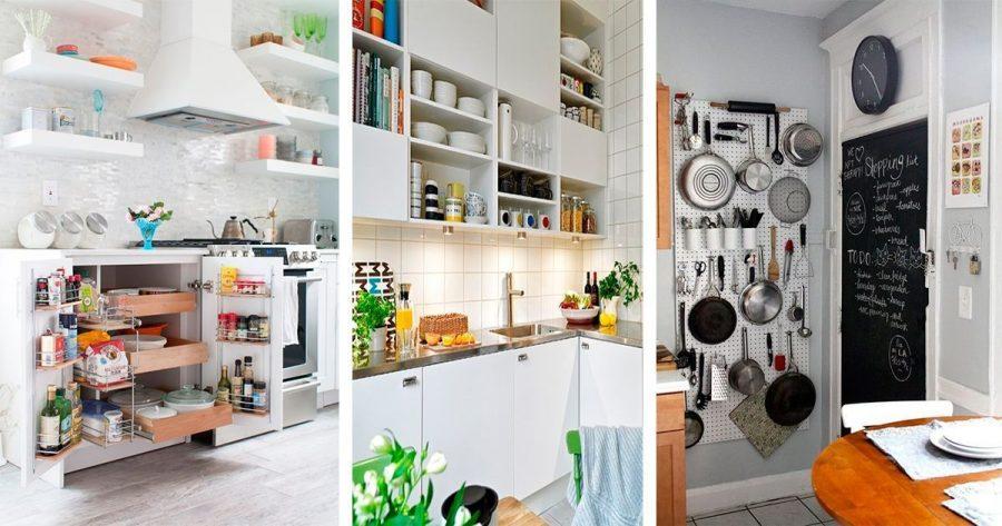 6 trucos geniales de almacenamiento para no convertir tu cocina en un caos