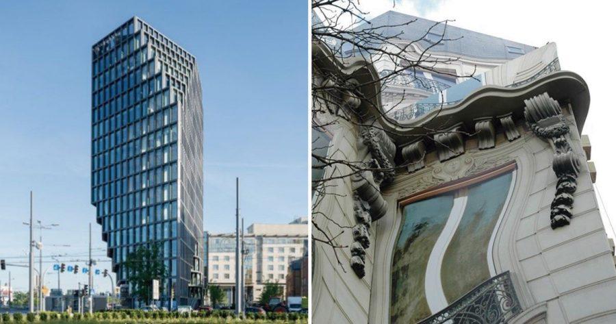 9 edificios con ilusiones ópticas