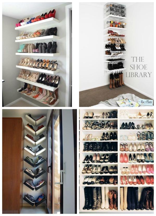 10 Formas Geniales De Organizar C 243 Modamente Los Zapatos En