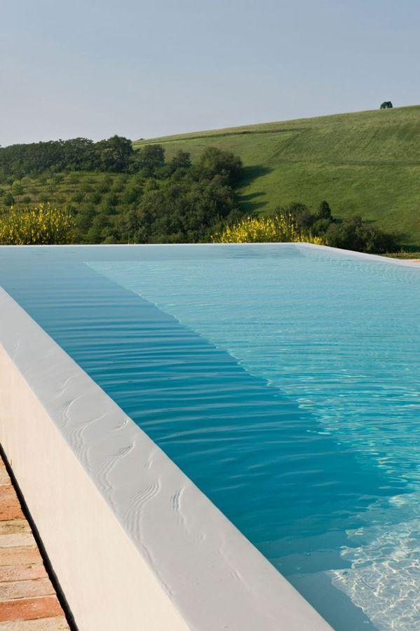 Piscinas muy bonitas hechas con microcemento casas - Microcemento para piscinas ...