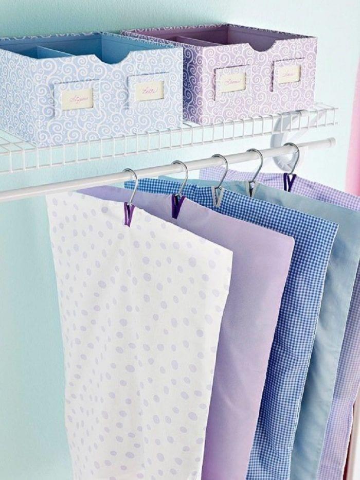 reciclar viejas sábanas y fundas de almohada 05