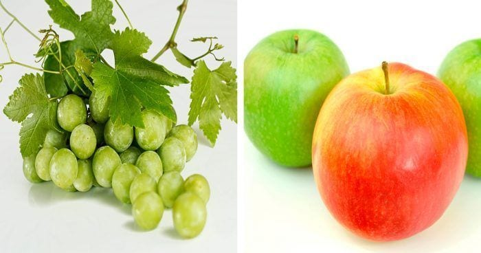 uvas-manzanas