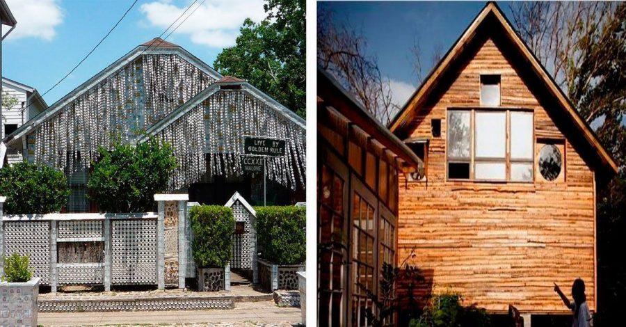 Te sorprenderán estas 10 casas construidas con materiales reciclados