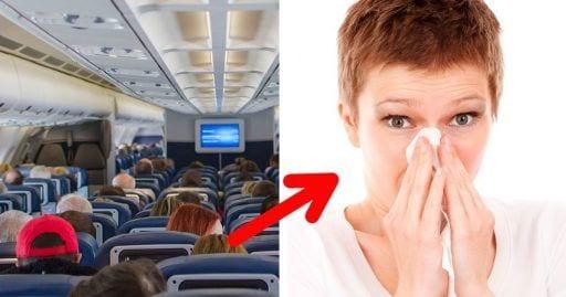 cosas que no hacer en el avion